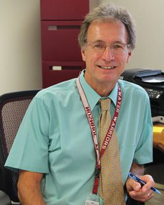 Headshot of High School Principal Mike Johnson