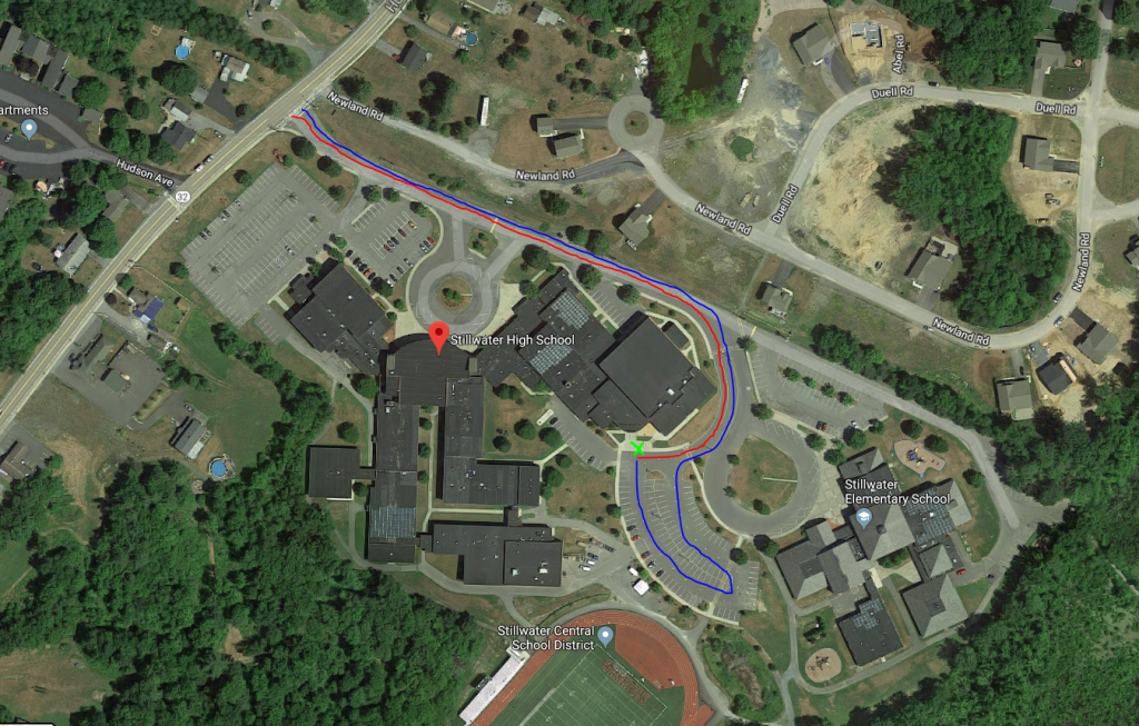Map of Stillwater campus