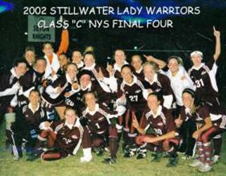 2002 Girls Soccer Team