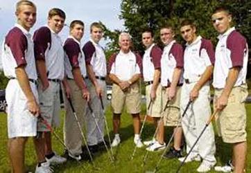 2007-09 Golf Team